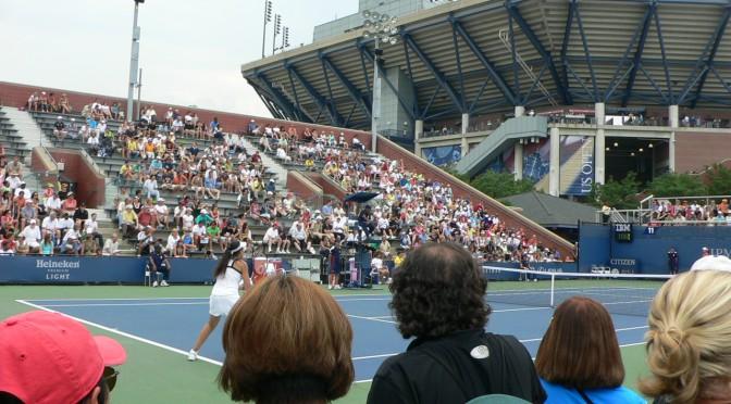 ナショナル・テニス・センターのコートについて