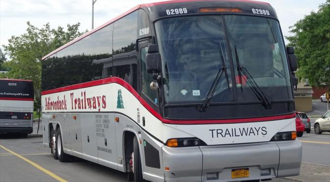 クーパーズタウンへバスで行く!