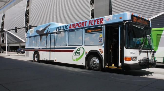 サンノゼ国際空港からのアクセス(公共の交通機関)