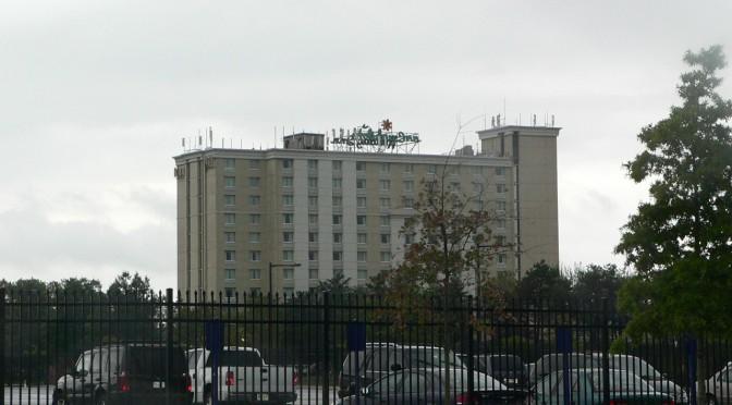 シチズンズ・バンク・パーク近くのホテル(フィラデルフィア・フィリーズ観戦)