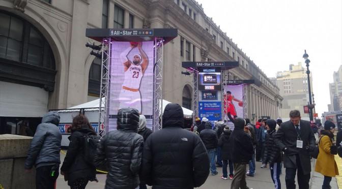 NBAオールスターを観に行こう!NBAハウスinニューヨークpart2