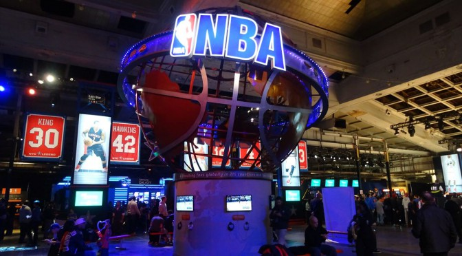 NBAオールスターを観に行こう!NBAハウスinニューヨーク