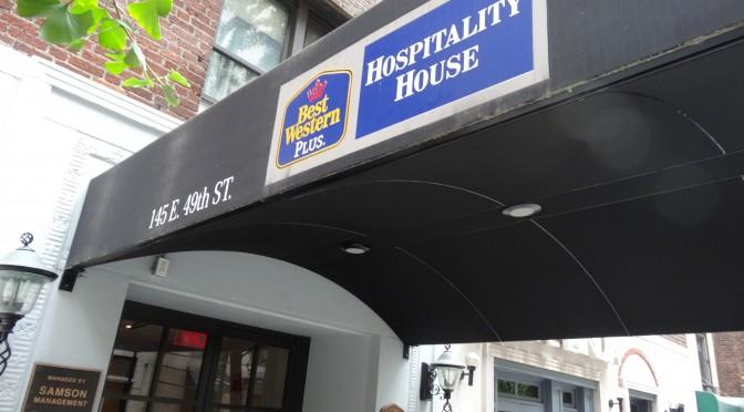マンハッタンで3ベッドあるホテル