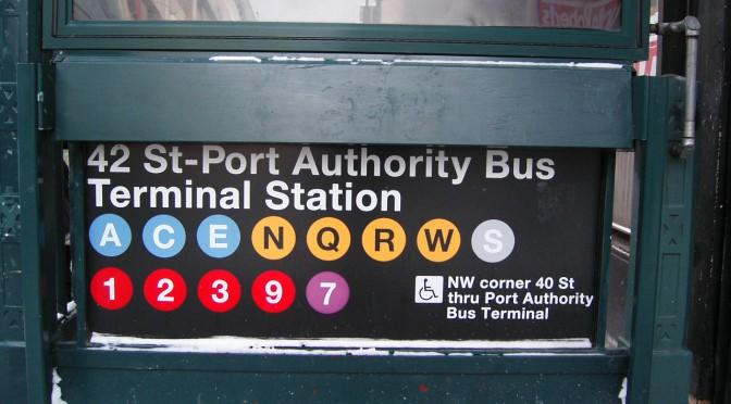 ニューヨークの地下鉄の乗り方