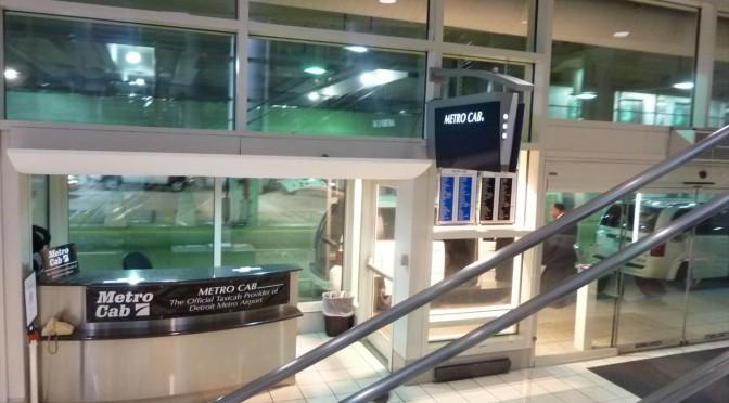 デトロイトの空港からのアクセス