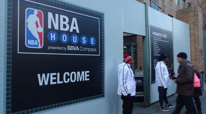NBAオールスターを観に行こう!NBAハウスinブルックリン