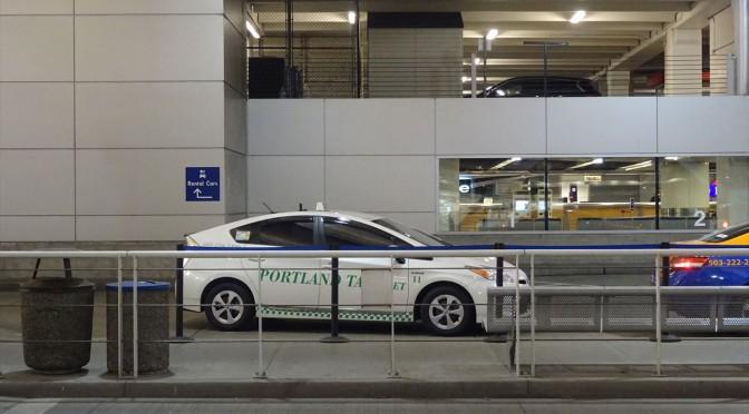 ポートランド国際空港からダウンタウンエリアへのアクセス(タクシー)